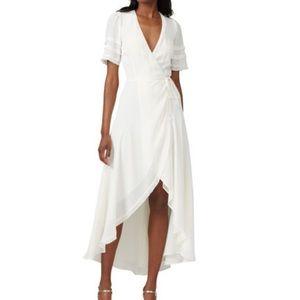 REFORMATION Lottie Wrap dress